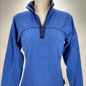 Columbia women's textured fleece pullover sweater